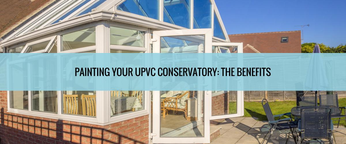 Painting uPVC Conservatory
