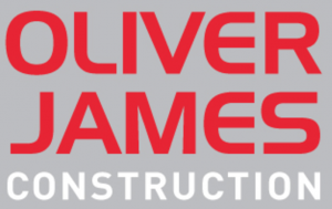 Oliver James Construction Logo