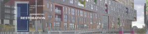 Commercial Window Frame Restoration