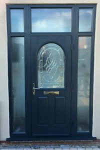 UPVC Door After Respray