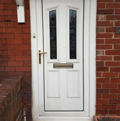 UPVC Door Before Respray