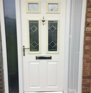 UPVC Door White Before Respray